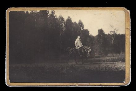 Count Leo Tolstoy Yasnaya Polyana Imperial Russia Antique Unpublished Photo